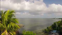 Cudjoe Bay, Florida Keys Time Lapse Stock Footage