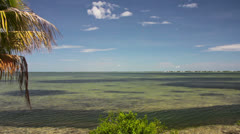 Cudjoe Bay, Florida Keys Stock Footage