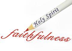 Hs faithfulness Stock Illustration