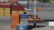 Stock Video Footage of Container Handling