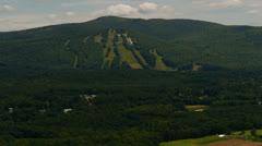 Ski Slope Summer Stock Footage