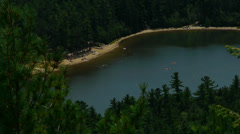 Aerial Lake Stock Footage