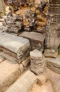 Ruins of angkor Stock Photos