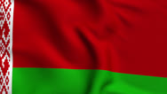 Stock Video Footage of Belarus Weave Textured Flag Loop