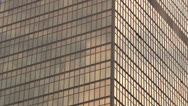 Stock Video Footage of Skyscraper reflections