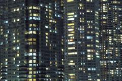 Night city background Stock Photos