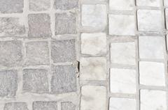 Cobblestone Texture 5 - stock photo