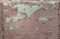 Old Cracked Red Wall Texture 5 Stock Photos