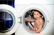 Stock Photo of washing machine
