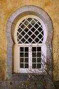 moorish window - stock photo
