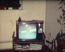 SUPER 8 1970's television Stock Footage