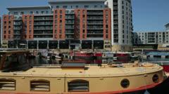 Leeds, clarence dock Stock Footage