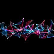 Stock Illustration of abstract graffiti