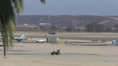 F-35B Lightning II Landing At MCAS Miramar Stock Footage