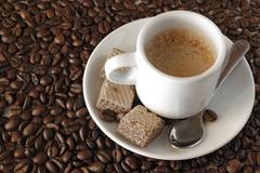 expresso coffee - stock photo