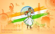 Culture of India Stock Illustration