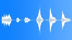 Cartoon tired effort voice loop Sound Effect