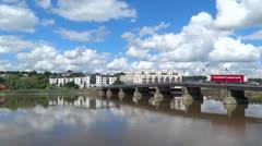 New Ross Bridge Co. Wexford. Stock Footage