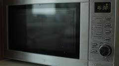 Microwave Stock Footage