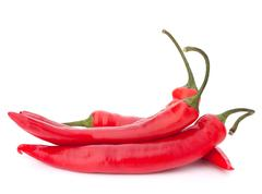 Stock Photo of hot red chili or chilli pepper
