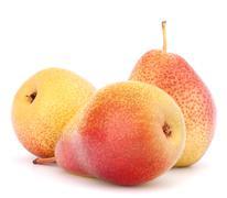 Ripe pear fruit Stock Photos