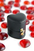 jewel box - stock photo