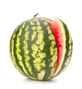 Sliced ripe watermelon Stock Photos