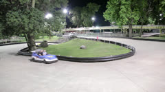 Go Karts Stock Footage