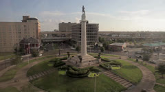 Robert E Lee Monument Stock Footage