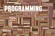 Stock Illustration of programming