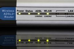 Wireless router Stock Photos