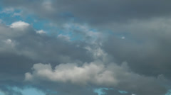 Clouds Fehmarn Stock Footage