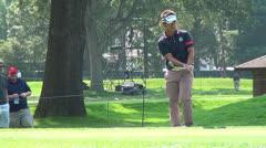 Hiroyuki Fujita, Pitching, Golfers, Golf, 2D, 3D Stock Footage