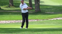 John Senden, Pro Golfer Driving, Golf, Sports, 2D, 3D Stock Footage