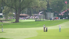 Golf, Golfers, Sports, Athletics, 2D, 3D Stock Footage
