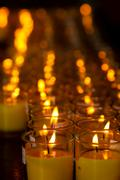 Allusions candles Stock Photos