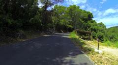 National park on island Mljet Stock Footage