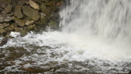 Stock Video Footage of Hilton Falls Waterfall Base-00183