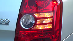 Car Headlights, Signal Lights, Tail Lights - stock footage