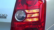 Car Headlights, Signal Lights, Tail Lights Stock Footage