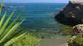 Peaceful picturesque seascape, La Manga, Mar Menor, Spain. Footage