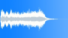 Brass tension culmination fanfare - sound effect