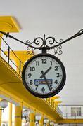 Stock Photo of Seville, hours, autostation