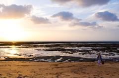 Ocean, Spain - stock photo