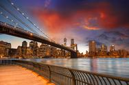 Stock Photo of New York City - Manhattan Skyline