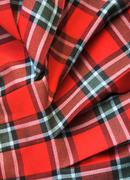 Stock Photo of Checked fabric
