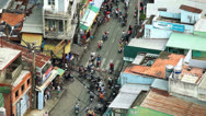 Stock Video Footage of TRAFFIC IN VIETNAM - HO CHI MINH CITY