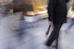 Germany, Bavaria, Munich, pedestrians walking Stock Photos