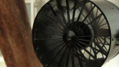 Professional cooling fan Stock Footage