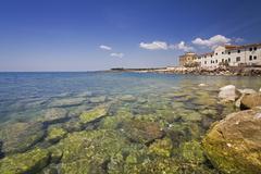 Italien, seaport Cecina, Adria - stock photo